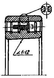 Подшипник  3182172 (NN3072K) размер 360x540x134