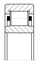 Подшипник  32105 (NU1005) размер 25x47x12
